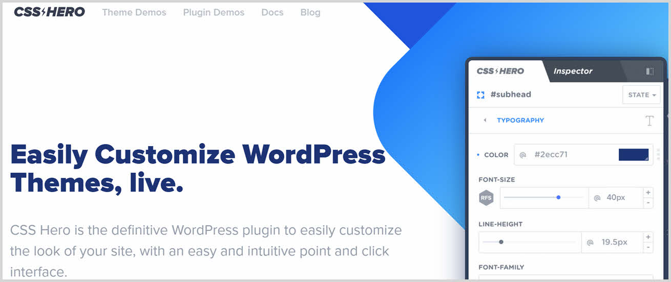 must have wordpress plugins - css hero