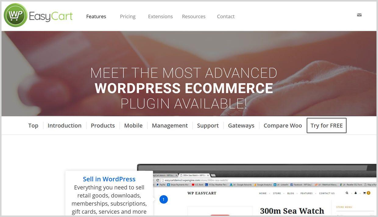 Best WordPress Plugins for Ecommerce - wpeasycart