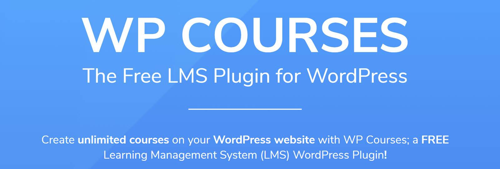 Best WordPress Plugins for Online Courses WP Cources LMS
